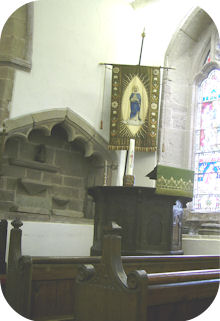 Nave interior looking to Pulpit